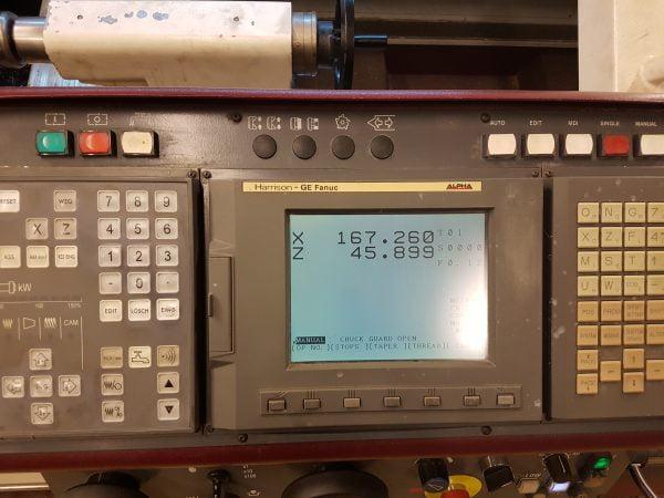 8243 Harrison Alpha 400 rennibekkur